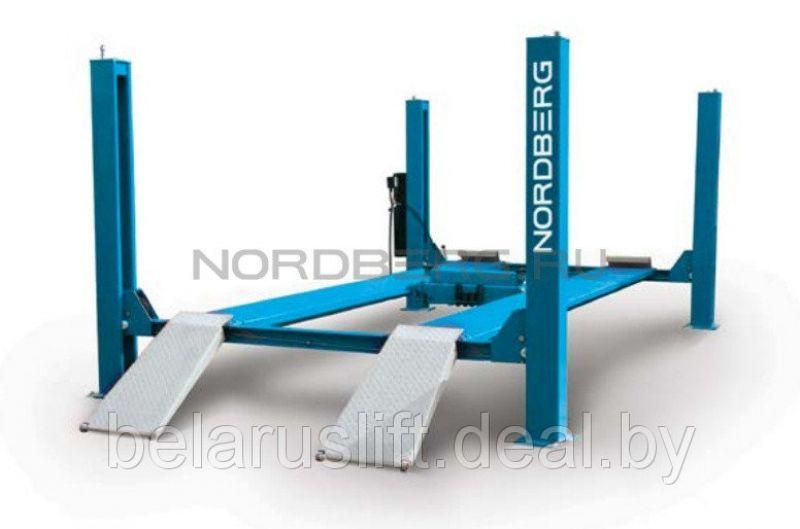 Подъемник четырехстоечный NORDBERG 4445