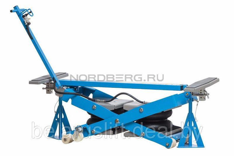 Подъёмник мобильный пневматический NORDBERG N636-2,5
