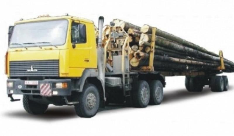 Лесовоз МАЗ-641705-210Р