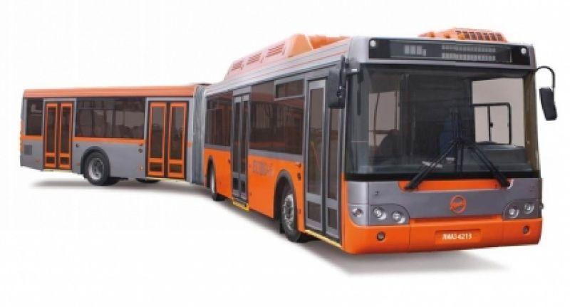 Низкопольный  автобус особо большого класса для городских перевозок ЛиАЗ 6213