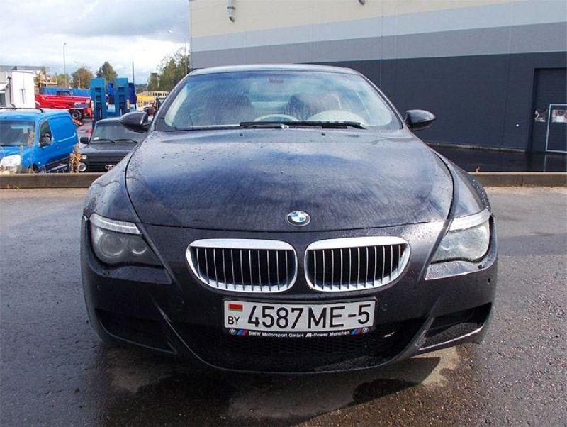автомобиль bmw m6